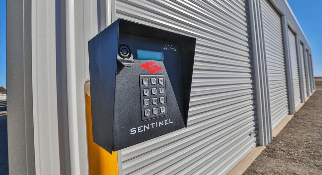 Mildura Self Storage Gate code access