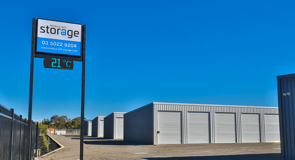 Mildura Self Storage Inside Gate