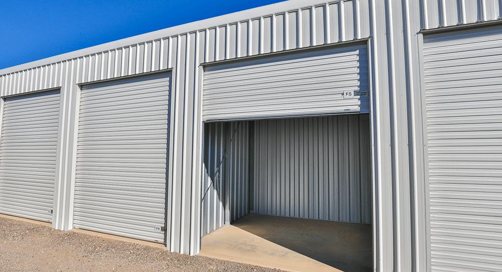 Mildura Storage Shed Opening