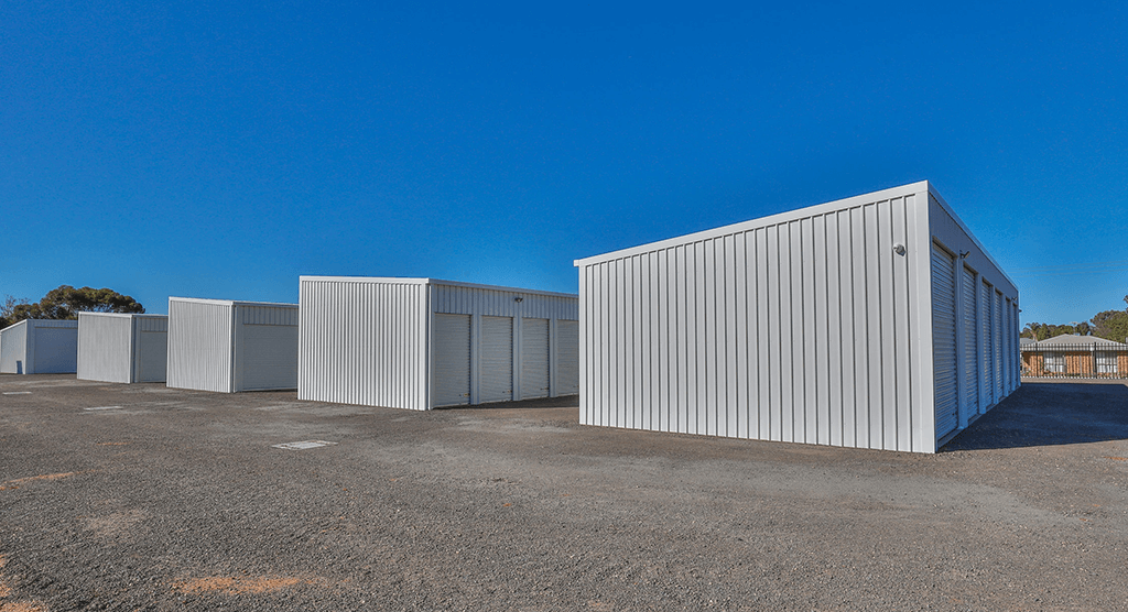Mildura Storage Sheds Side Shot